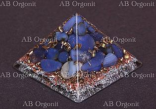 Dekorácie - Cheopsova pyramída - orgonit - 11323976_