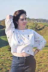 Tričká - Voľné tričko z tenclu - 11324726_
