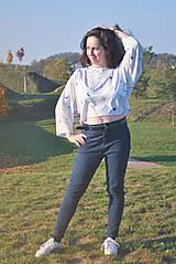 Tričká - Voľné tričko z tenclu - 11324728_