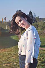 Tričká - Voľné tričko z tenclu - 11324729_