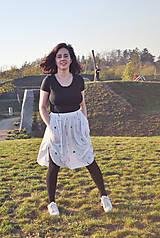Sukne - Sukňa s vreckami z tenclu - 11324900_