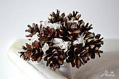 Kytice pre nevestu - Netradičná zimná svadobná kytica - 11324612_