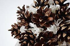 Kytice pre nevestu - Netradičná zimná svadobná kytica - 11324613_