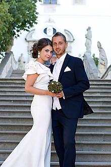 Kytice pre nevestu - Netradičná svadobná kytica z gaštanov - 11324647_