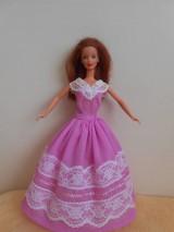 Hračky - Šaty pre barbie - 11321063_
