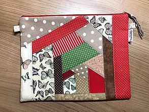 Na tablet - Obal na tablet - patchwork - 11321040_