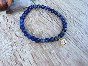 Náramky - náramok z Lapis Lazuli - 11321212_
