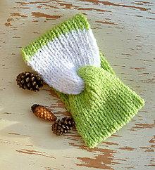 Detské čiapky - Sirsia turban celenka dvojfarebna SKLADOM - 11321757_