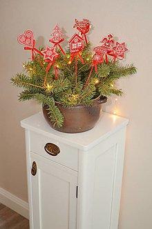 Dekorácie - Vianočné zápichy - 11325517_