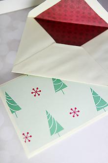 Papiernictvo - Vianočné obálky na peniaze - rôzne vzory - 11327207_