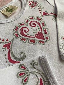 Detské oblečenie - Maľované body folk - 11325899_