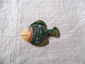 Dekorácie - Húfová rybka - 11328518_