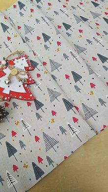 Úžitkový textil - Vianočný stredový obrus - 11328889_