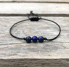 Šperky - Náramok - lapis lazuli - 11325150_