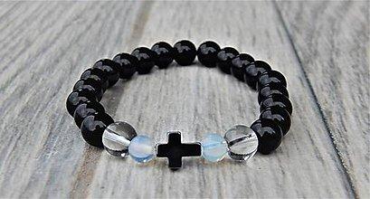 Náramky - Náramok s krížom - 11326773_