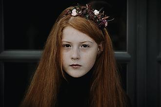Ozdoby do vlasov - Čelenka pre dievčatko Dilectio - 11328217_