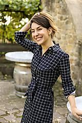 Šaty - KOŠEĽOVÉ ŠATY - BLACK&WHITE (XL) - 11328327_