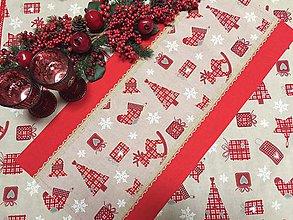 Úžitkový textil - štóla vianočná - 11326572_