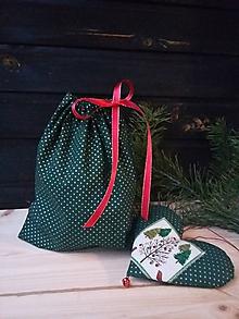 Úžitkový textil - Darčekové v zelenom - 11327823_