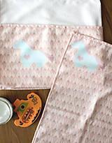 """Textil - Detský rýchloschnúci uterák """"Jednorožec"""" ružový - 11326386_"""