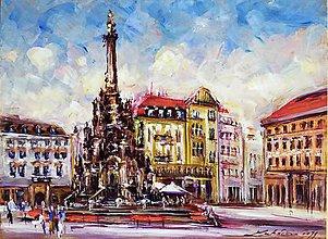 Obrazy - Trojičný stĺp v Olomouci - 11326605_
