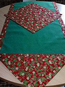 Úžitkový textil - vianočná štóla - 11327901_