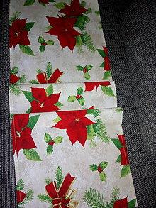 Úžitkový textil - vianočná štóla - 11327922_