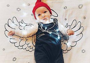 Detské doplnky - Látková plienka – Anjel - 11325251_