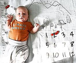 Detské doplnky - Látková plienka míľniková – Príroda - 11325529_