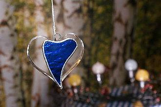 Dekorácie - Srdce v srdci tiffany - 11328026_