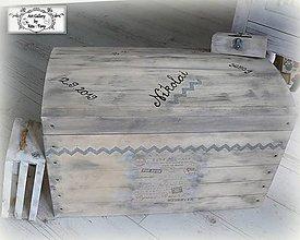 Nábytok - Spomienková truhlica s údajmi o narodení :) - 11326616_