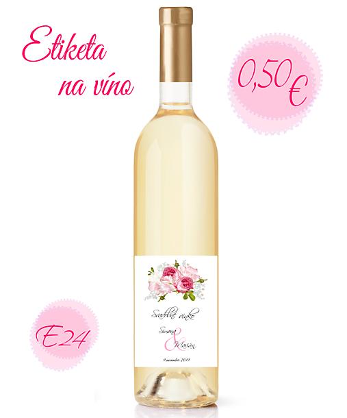 Etiketa na víno E24