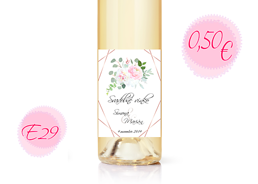 Etiketa na víno E29