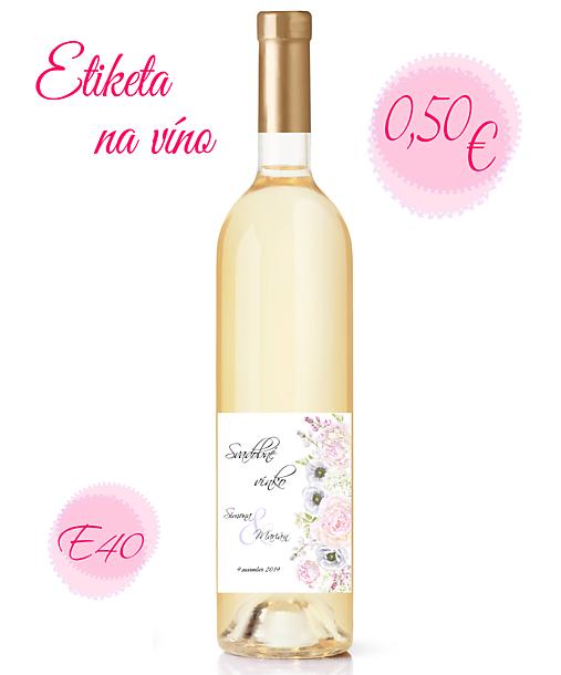 Etiketa na víno E40