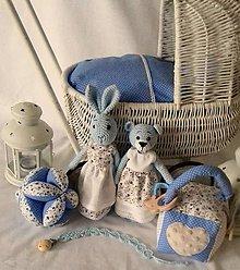 Hračky - baby blue -modrá kolekcia - 11332935_