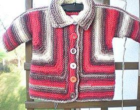 Detské oblečenie - Dětský kabátik /cca na 1 rok/ - 11332743_