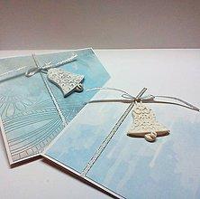 Papiernictvo - Pohľadnica ... zvonivé Vianoce II - 11332299_