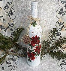 Nádoby - Vianočná fľaša - 11332629_