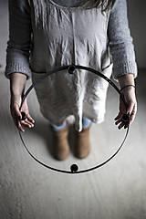 Dekorácie - Kruhový svietnik - 11330702_