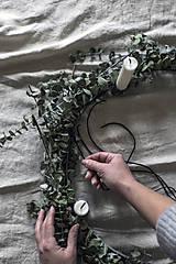 Dekorácie - Kruhový svietnik - 11330750_