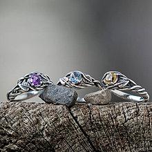 Prstene - Snubáčik lipou ovinutý   - 11330945_