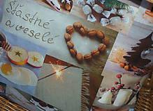 Úžitkový textil - Vankúš Slovenské Vianoce - 11332849_