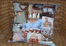 Úžitkový textil - Vankúš Slovenské Vianoce - 11332851_