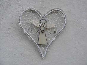 Dekorácie - Anjelik z Provence IV - 11331402_
