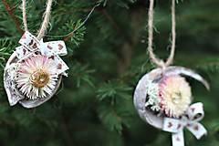 Dekorácie - Ozdoby na stromček - 11330034_