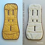 Textil - Vlnienka podložka OYSTER ZERO 100% wool MERINO horčicová MUSTARD - 11331289_