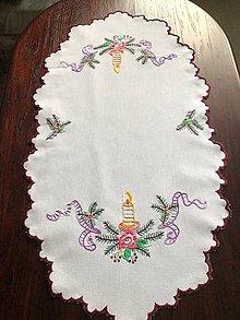 Úžitkový textil - Vianočný obrus - 11331060_