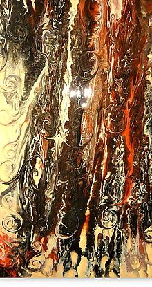Obrazy - Golden Waltz-diptych - 11333144_