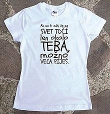 Tričká - tričko s posolstvom :) - 11333954_