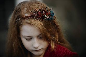 Ozdoby do vlasov - Čelenka Achillea - 11333714_
